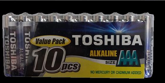 סוללות AAA TOSHIBA