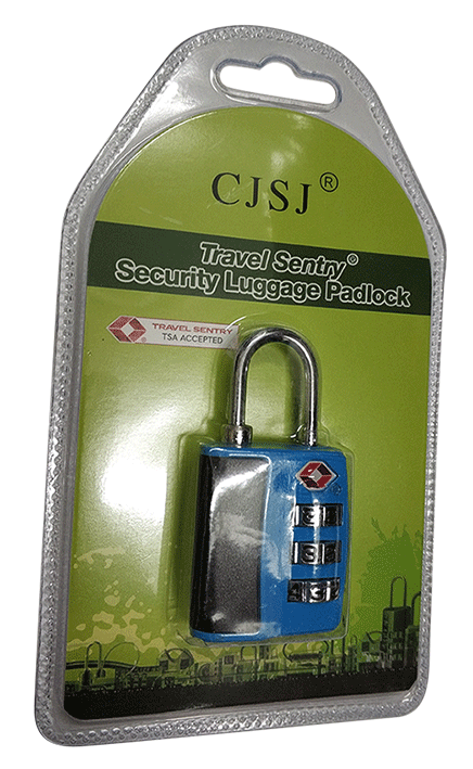 מנעול מזוודה קומבינציה TSA